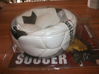 Export quality packing promotion soccer ball