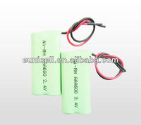 12v NiMH rechargeable batteries pack AA AAA with connector