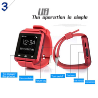 Touch Screen 2015 cheap bluetooth smart watch for phone from smart watch factorY