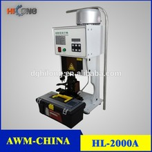 Cable lug press machine with wire cable HL-2000A