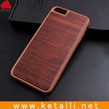 New product real wood mobile phone case with tpu bumper