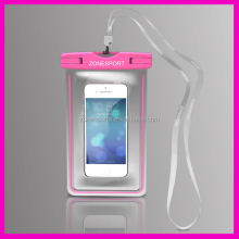 2014 Universal waterproof bag for phone,Colorful Piece and Transparent Piece, Waterproof pouch