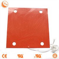 Universal Silicone Heater Pad, Engine Oil Pan Heater 200X150mm 200W 220V
