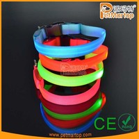 Hot Eco - Friendly Led Dog Pet Collar And Leash With CE