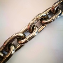 Resistance welding G70 high tensile Stainless Steel link Chain
