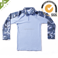 golden supplier army tactical camo navy blue combat shirt