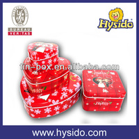heart shaped candy tins