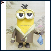 Steal dads despicable me 3 action figure/rotocasting pvc minion figure/oem custom pvc action figure