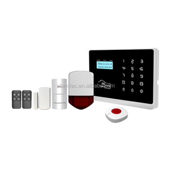 Wifi and 3G security alarm system