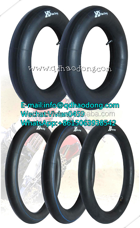 best quality butyl rubber motorcycle inner tube 4.80/4.00-8 made in China