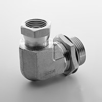 Female thread ppr pipe fitting 90 degree aluminum elbow