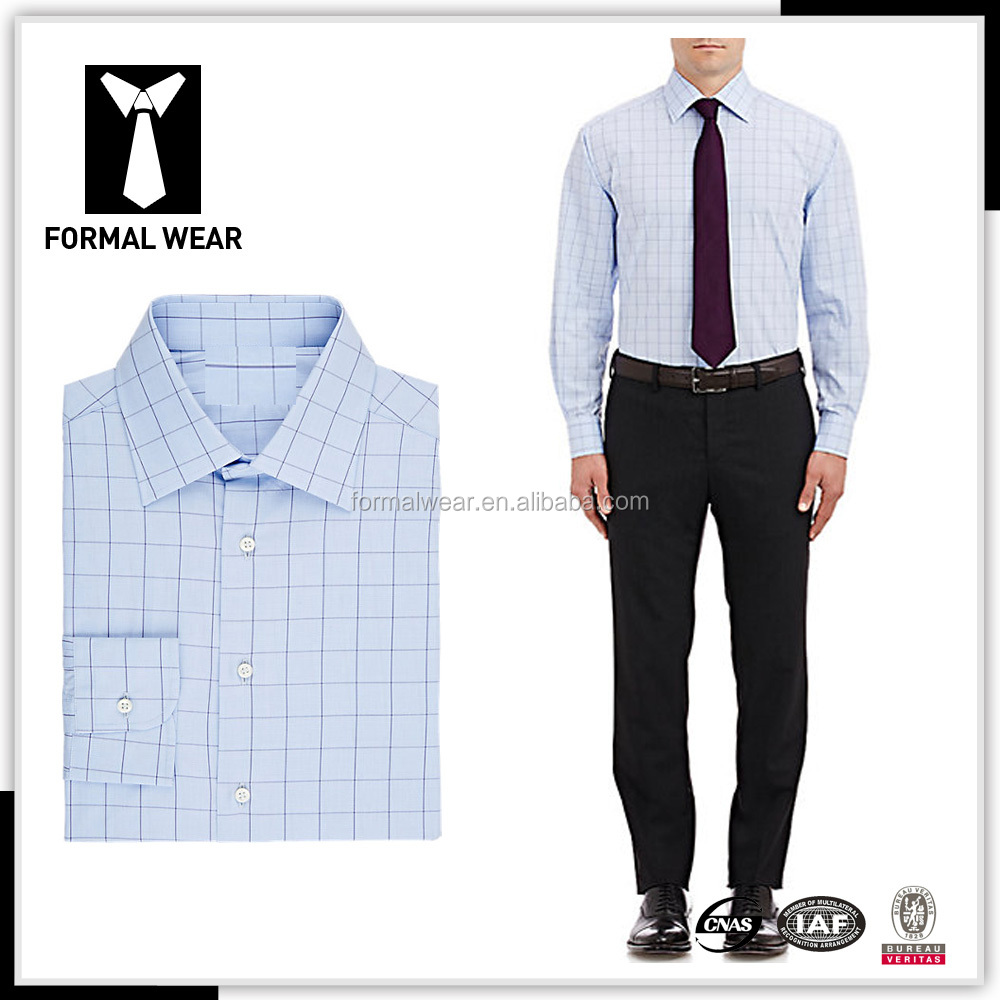 New arrving 100% Cotton mens dress shirt and pants
