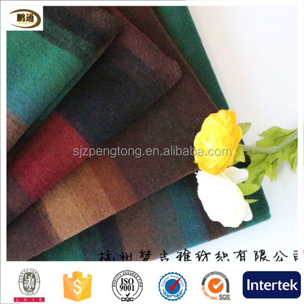 wool coat for worsted wool fabric wool coat