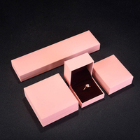 Luxury New Product Custom Paper Wedding Ring Box Jewelry Packaging Box