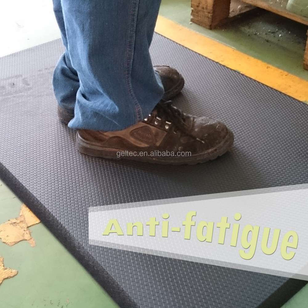 anti slip anti fatigue floor rubber foam mats