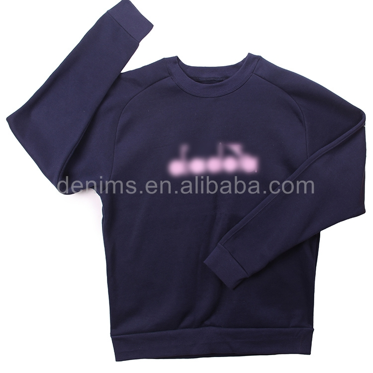D923-3-B3 cotton polyester custom apparel sweater for men