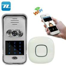 Wifi door phone video intercom IP video door bell remote unlock via mobile
