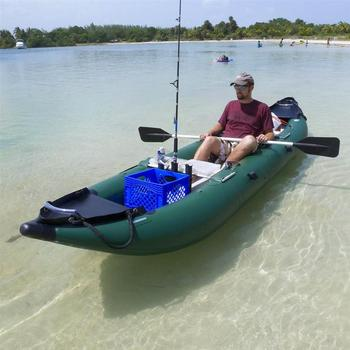2015 china wholesale 1or 2 person inflatable ocean fishing for 2 man fishing kayak