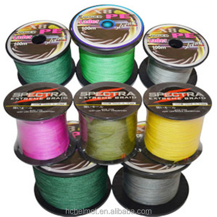 1000M Super Strong Fishing Braided Multifilament PE Fishing Line 4 Stands 10LB to 100LB New 2015