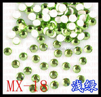 Glass flatback crystal rhinestones for clothes decoration ss10