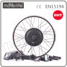 MOTORLIFE/OEM 48v 1000w battery powered bicycle kit;brushless hub motor 48v1000w electric bike kit