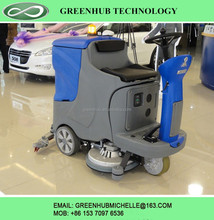 electrical drive scrubber floor cleaning equipment for sale