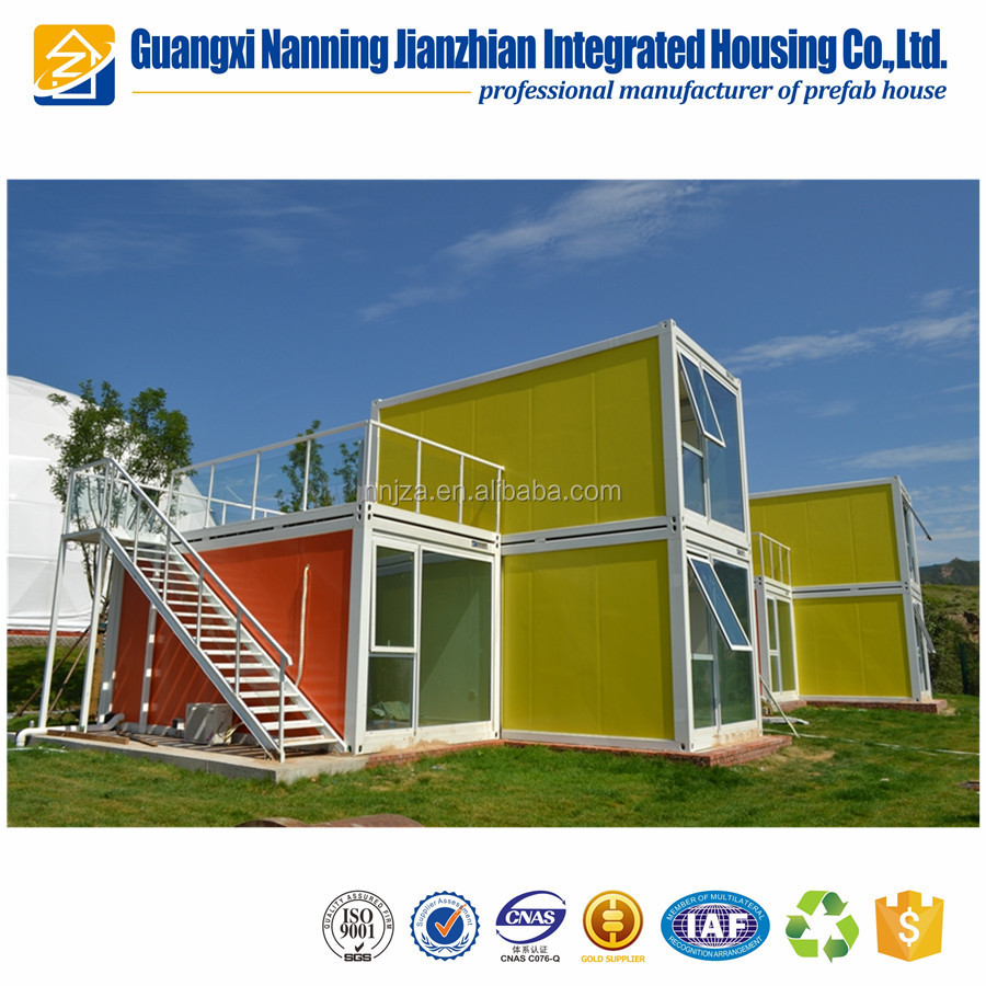 Cheap Prefabricated House Container Kit house For Hotel luxury living