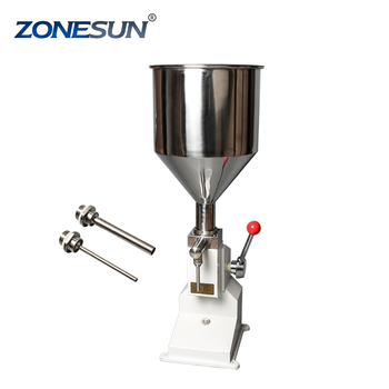 ZONESUN Stainless steel semi-automatic liquid filling machine laundry detergent filling machine paste filling machine supply
