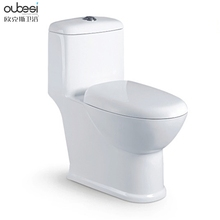 Hot selling elongated floor mounted beautiful ceramic wc chaozhou sanitaryware one piece toilet China