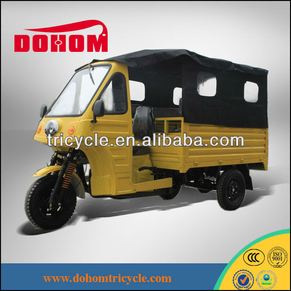 Cargo & passenger tricycle for adults with canopy