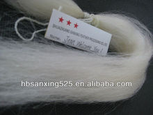 TOP!! 100% WHITE LONG GOAT HAIR, 12'' LENGTH, GOOD QUALITY, FACTORY PRICE