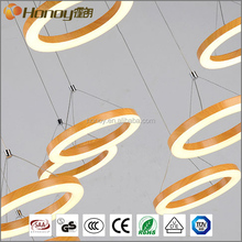 15W 45W 90W 135W White Round Top China Led Lights Acrylic Modern Pendant Lamp Bedroom Light