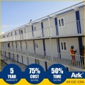 Ark Top Quality Good Price 3 Story Long Lifespan Flatpack Prefabricated Steel Oil Field State-Specific Classroom(DSA)