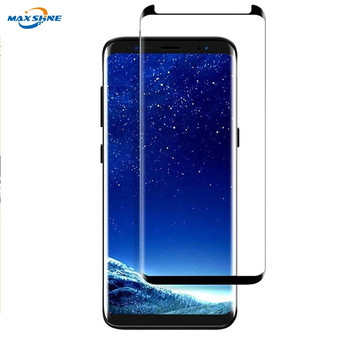 3D Curved Full Cover Protective Film screen protector for Sansung Galaxy S9 Plus tempered glass S9 S8 S8 Plus Note 8