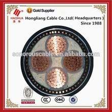 NO.3514- types of Underground 600V Steel Wire Armoured Cable 4 Core Copper Cable 240mm Power Cable