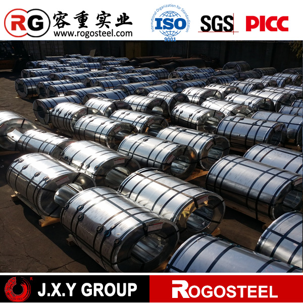 High quality shanghai galvanized steel rogo steel oiled JIS density of steel l galvanized