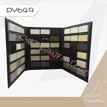 PY649---Quartz Stone Display Folder , Marble Stone Sample Folder