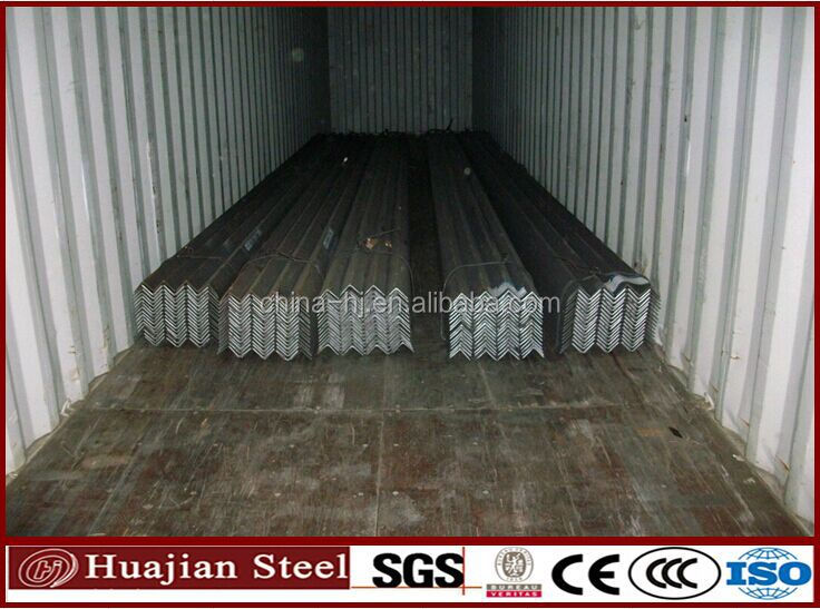2#-20#high quality hot rolled common angle /equal carbon steel angles