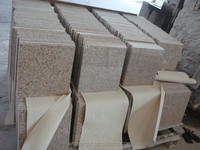 Various granite sheet/China yellow granite/custom size granite tiles 50x50