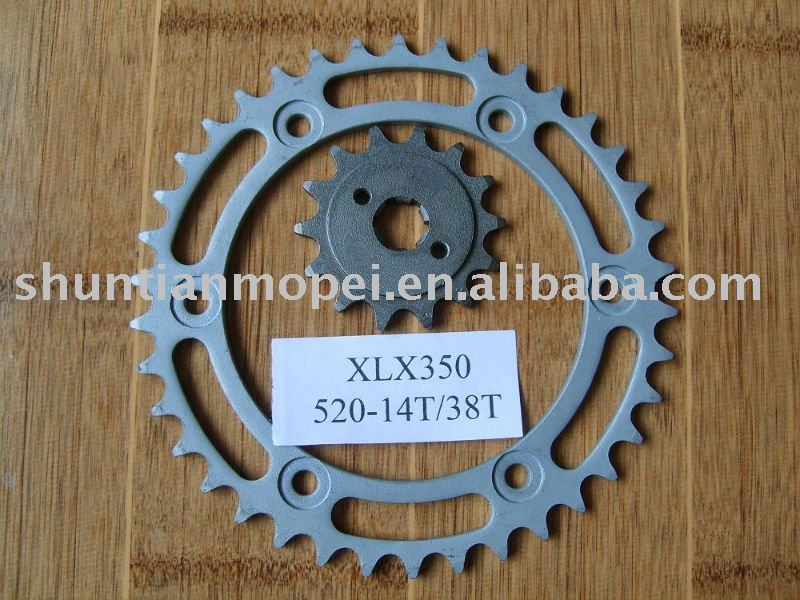 FH-287 sprocket and chain