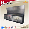 Heavy Duty steel Drawer workbench with panel economic garage tool cabinets