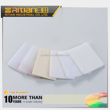 High gloss irovy / opal / milk white acrylic sheet cast made in china factory