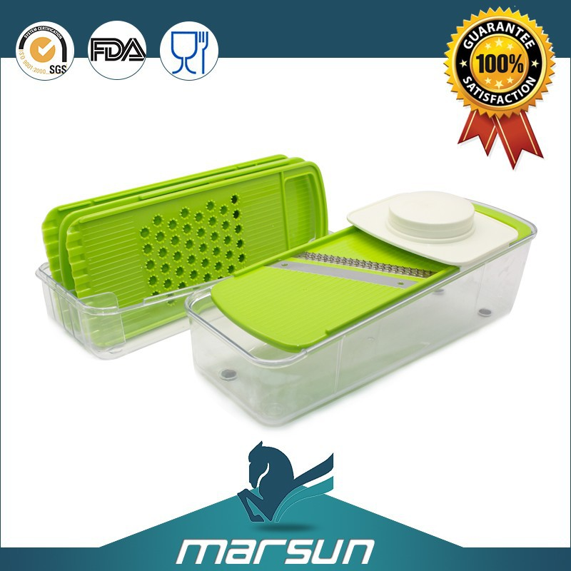 Best Quality As Seen on TV Palstic Durable Food Safe Material Vegetable Slicer Blades