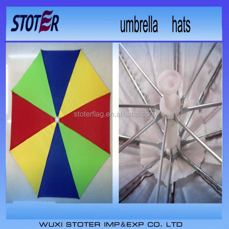 Hot China Products Wholesale Custom Kid Umbrella Hat