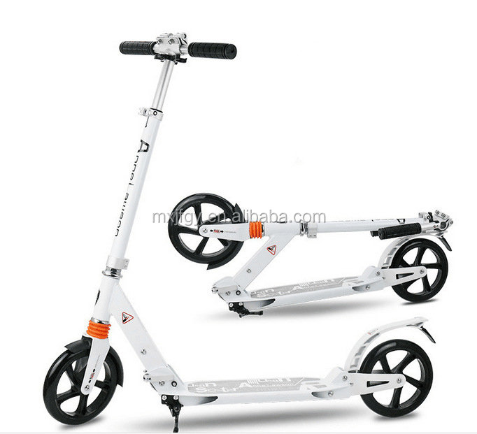 professional adult full aluminum kick scooter foot push off road scooter on hot sale