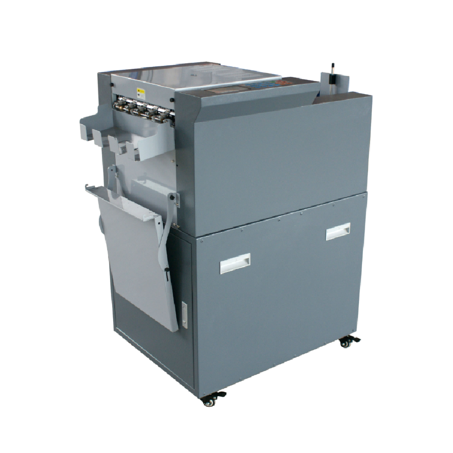 Ruicai Brand Auto Feeding Business Card Slitter/Business Card Die Cutting <strong>Machine</strong>/ Electric Name Card Cutter