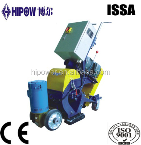 Guangzhou factory , Hot sale , floor shot blasting machine 4KW-22KW. concrete floor shot blasting machine