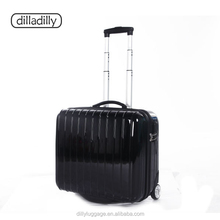 17'' abs pc hard shell trolley laptop case,laptop luggage ,bags&cases