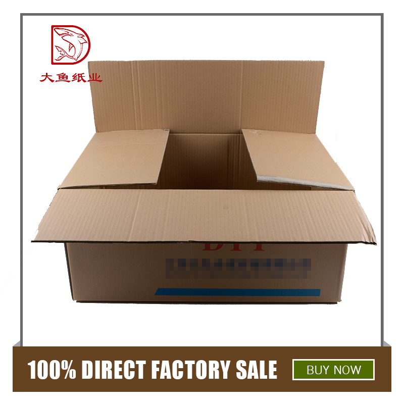 Wholesale creative corrugated board paper packaging box