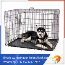 106*71*76cm stainless steel portable dog kennel
